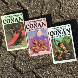 Conan books (x3)