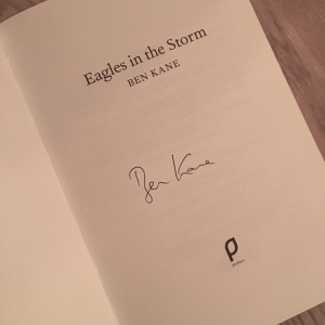 Eagles in the Storm Ben Kane Signature