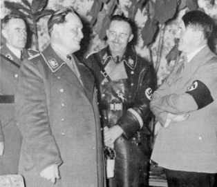 Göring, Himmler, Hitler