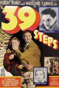 The 39 Steps 1935 British poster