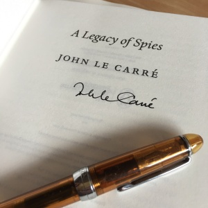 A Legacy of Spies John le Carré signature