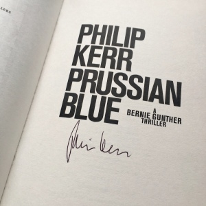 Prussian Blue Philip Kerr Signature
