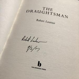 The Draughtsman Robert Lautner signature