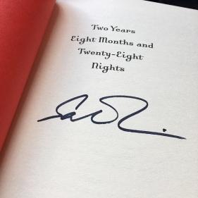 Salman Rushdie signature
