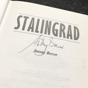 Stalingrad Antony Beevor signature