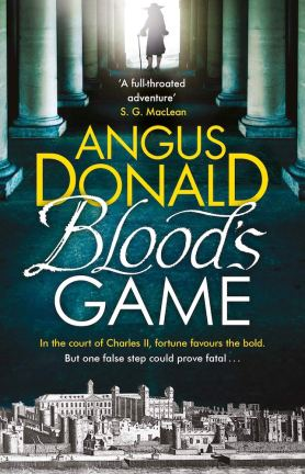 Angus Donald Blood's Game paperback